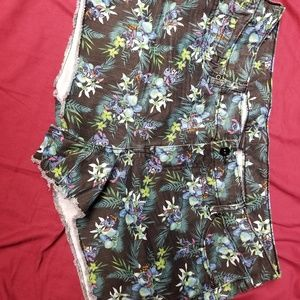 Disney stitch shorts size 14